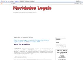 novidadeslegal.blogspot.com.br