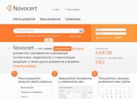 novocert.ru