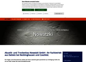 nowatzki-akustik-trockenbau.de