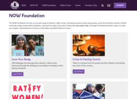 nowfoundation.org