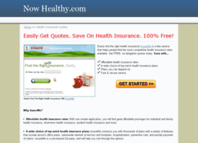 nowhealthy.com