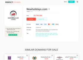 nowholidays.com