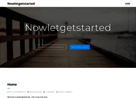 nowletsgetstarted.co.uk