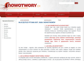 nowotwory.ch