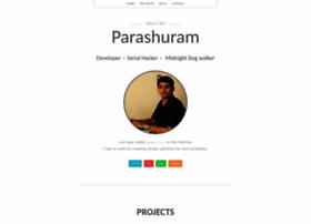 nparashuram.com