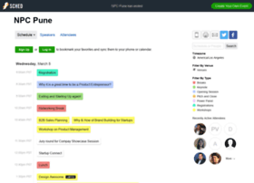 npcpune2014.sched.org