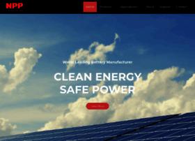 nppbatteries.com