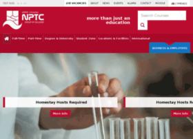 nptc.ac.uk