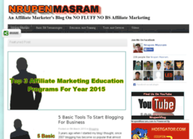 nrupenmasram.com