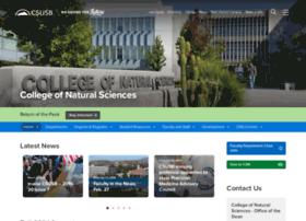 nsci.csusb.edu