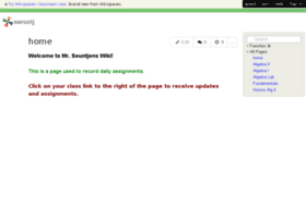 nseuntj.wikispaces.com