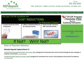 nsfdeposit.com