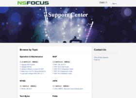 nsfocus.desk.com