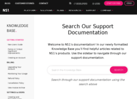 nsone.uservoice.com