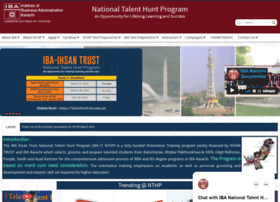 nthp.iba.edu.pk