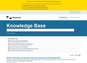 nuance.custhelp.com