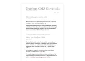 nucleuscms.sk
