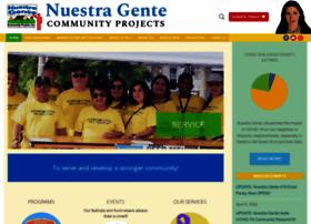 nuestragentecommunityprojects.org