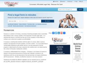 nuisances.uslegal.com