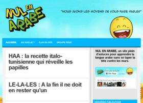 nul-en-arabe.com