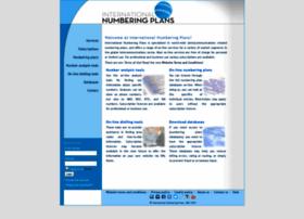 numberingplans.com