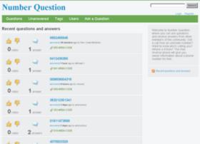 numberquestion.com