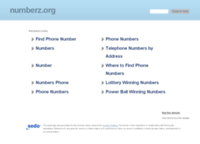 numberz.org