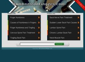 numbnessinfingers.com