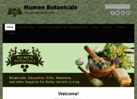 numenbotanicals.com