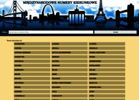 numer-kierunkowy.com.pl