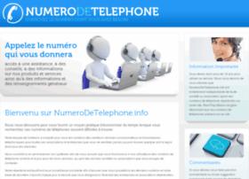 numerodetelephone.info