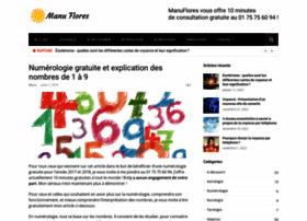 numerologie.manuflores.com
