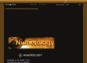 numerology.findyourfate.com