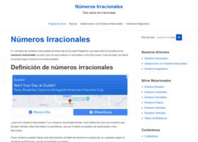 numerosirracionales.com