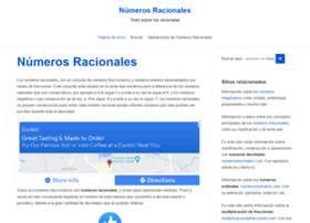 numerosracionales.com