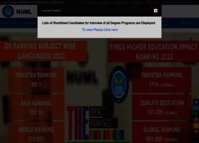 numl.edu.pk