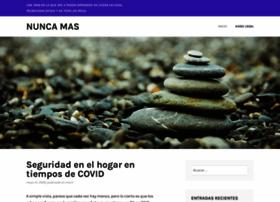 nuncamas.org
