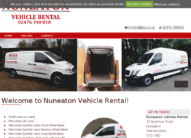 nuneatonvehiclerental.com