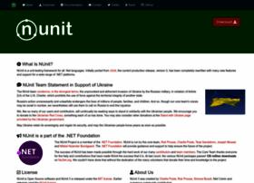 nunit.org