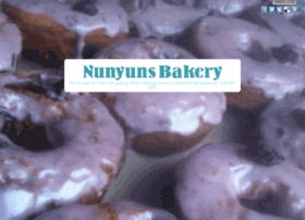 nunyunsbakery.com