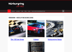 nurburgringlaptimes.com