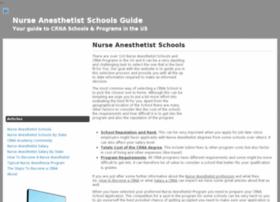 nurseanesthetistschoolsus.com