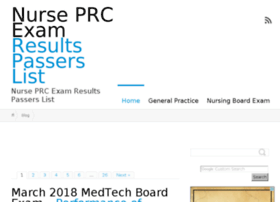 nurseprcexamresults.com