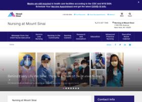 nurses.mountsinaihealth.org