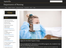 nursing.appstate.edu