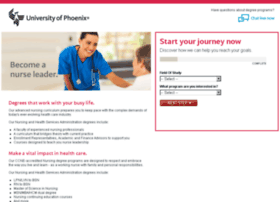 nursingandhealthcaredegrees.phoenix.edu