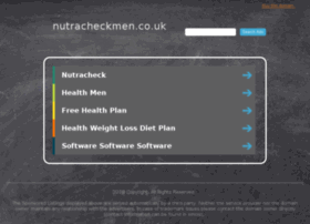 nutracheckmen.co.uk
