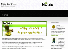 nutriaoliveoils.com