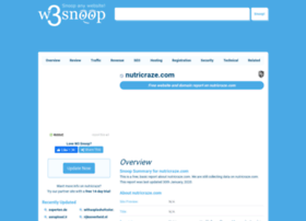 nutricraze.com.w3snoop.com