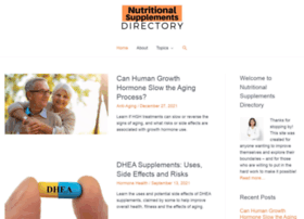 nutritional-supplements-directory.com